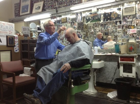 Floyd's City Barbershop:                   Stopping the bleeding