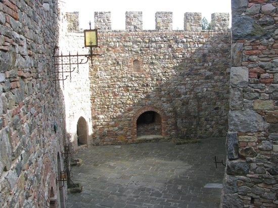 Castello di Amorosa:                   Inside