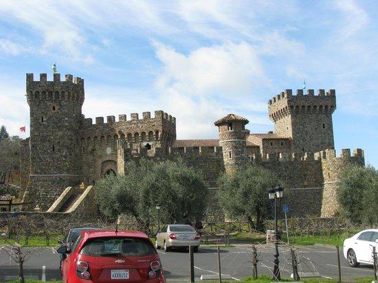 Castello di Amorosa:                   Castle