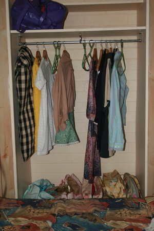 Jacksons Motor Inn:                   The wardrobe in the family room after I scrubbed it.
