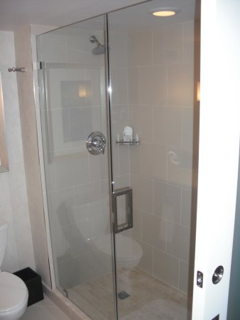 Renaissance Arlington Capital View Hotel: shower
