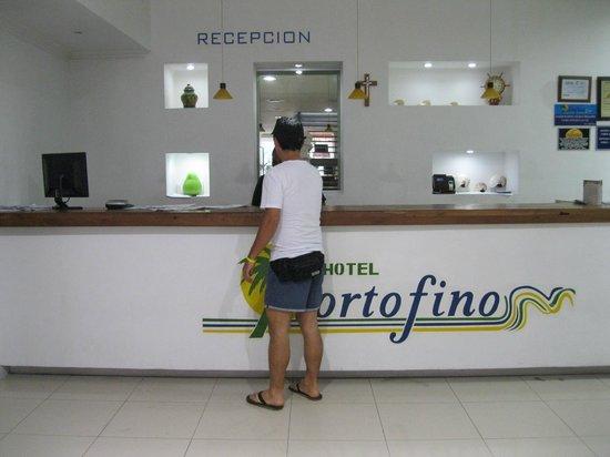 Hotel Portofino:                   Recpción