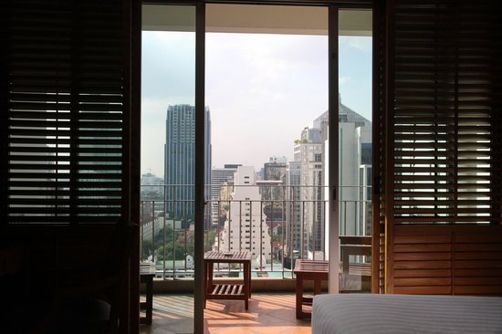 Grande Centre Point Hotel Ploenchit:                   View