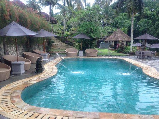 Hotel Villa-Ubud:                   部屋からの眺め