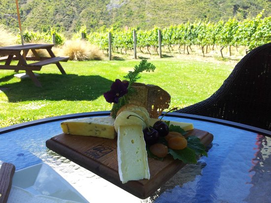 Gibbston Valley Cheese:                   Delicious platter and beautiful surroundings