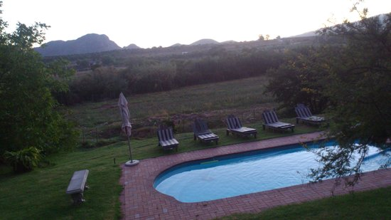 Thabile Lodge:                                                       Sunrise view
