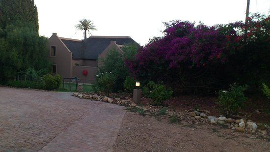 Thabile Lodge:                                                       The main building