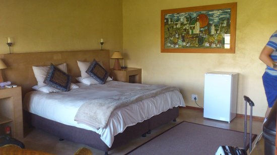 Thabile Lodge:                                                       Our room