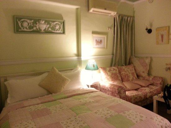 Ann's House:                   Room