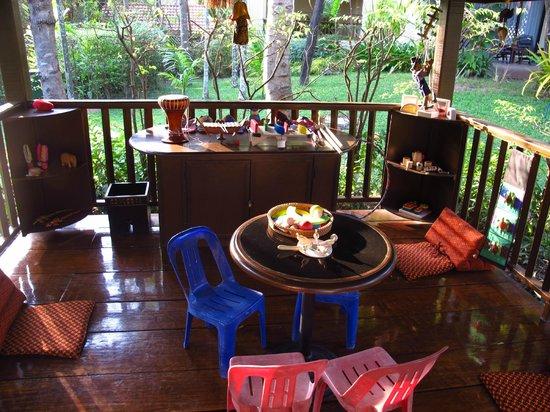 Sofitel Angkor Phokeethra Golf and Spa Resort:                   Play Area (next to pool)