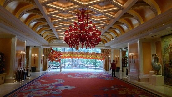 ‪‪Wynn Macau‬: Wynn Lobby during CNY‬