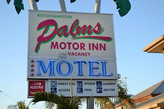 Rockhampton Palms Motor Inn:                   Rockhampton Motor Inn