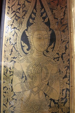 Kuil Budha Berbaring (Wat Pho): Door decoration