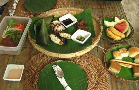 El Nido Resorts Lagen Island:                   Basket lunch