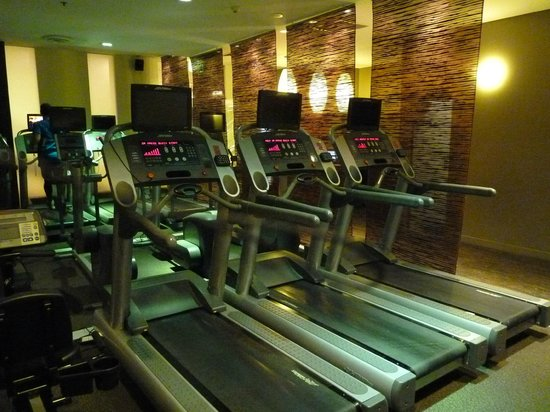 Sofitel Sydney Wentworth: Treadmills at Elixr Gym
