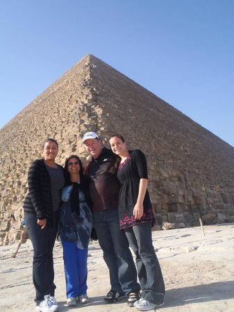Go Travel Egypt - Day Tours :                   At the Great Pyramids