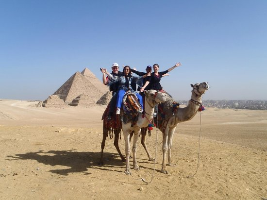 Go Travel Egypt - Day Tours :                   Pyramids by camel back