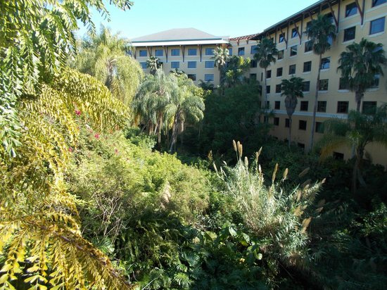 Loews Royal Pacific Resort at Universal Orlando :                   Outside of resort