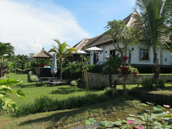 Bidadari Private Villas & Retreat - Ubud:                   ヴィラ内の庭園からの眺め