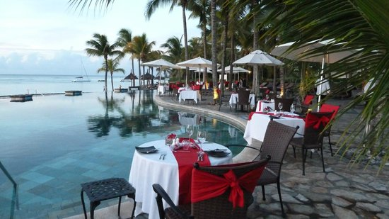 Le Meridien Ile Maurice :                   Valenties Day at La Faya