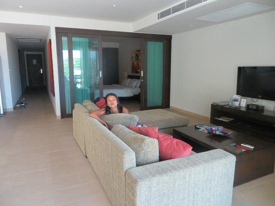 Serenity Resort & Residences Phuket:                   Living area