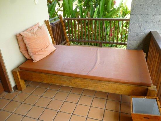 Biyukukung Suites and Spa: zona exterior de la habitacion