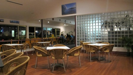 Lord Howe Island Bowling Club Dining Area