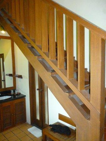 Biyukukung Suites and Spa: escaleras
