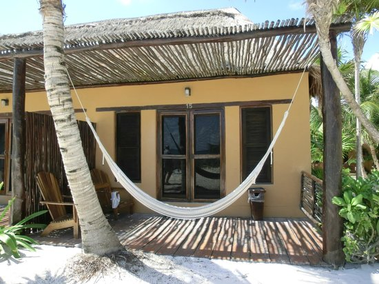 Hip Hotel Tulum: Bungalow No. 15 (beach front)