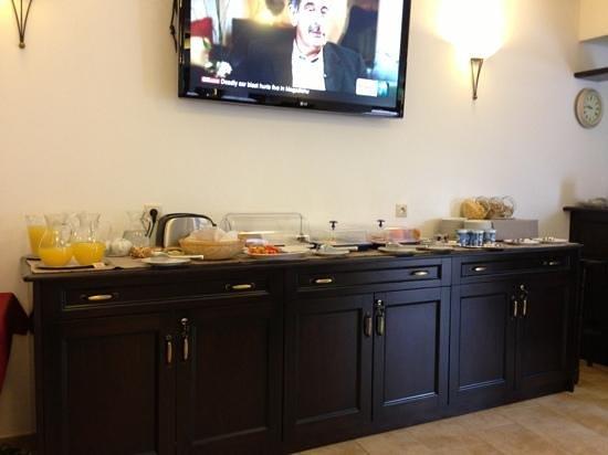 EA Hotel Joseph 1699:                   Breakfast itself ))