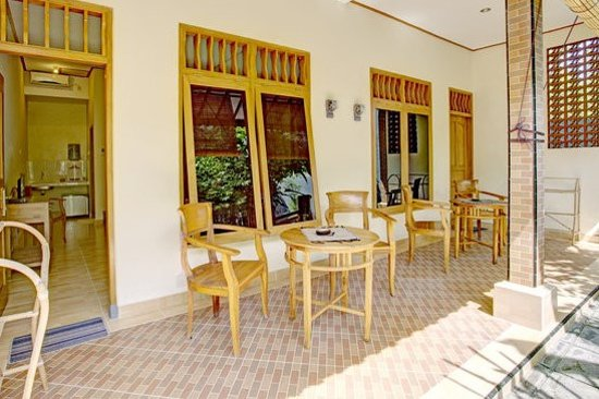 Jimbaran Home Stay : Terrace Deluxe Double Rooms