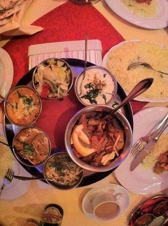 GOA: shahi baingan and vegtable thali