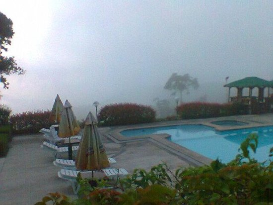 Days Hotel Tagaytay: view from my room veranda at 630am