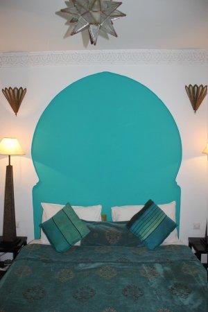 Riad Fabiola:                   onze hotelkamer