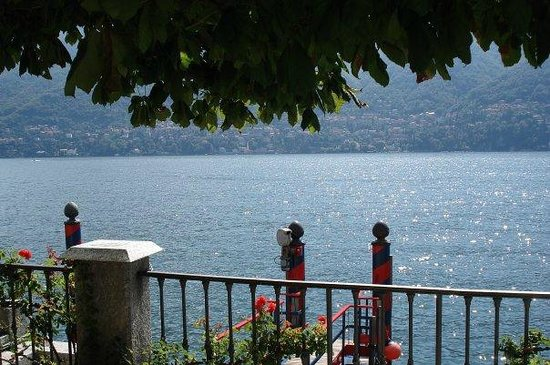 Villa d'Este:                   View from Bar Terrazza