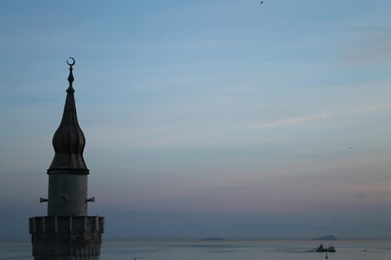 Antis Hotel:                                     View from the roof top Marmara at Sunset