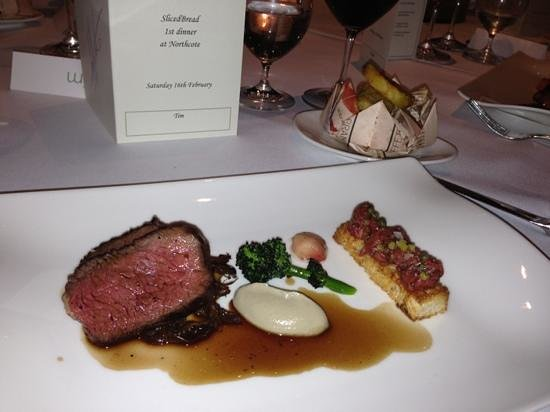 Northcote Hotel:                   Dexter Beef.