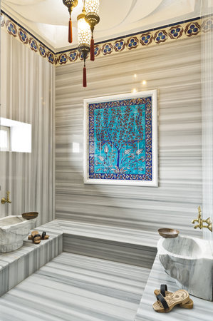 Sokullu Pasa Hotel: SUIT'S TURKISH BATH