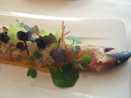 Belmond Le Manoir aux Quat'Saisons:                   Crab salad - the crab stars, the additions combine perfectly