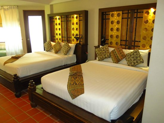 Aonang Princeville Resort:                   Spacious room.