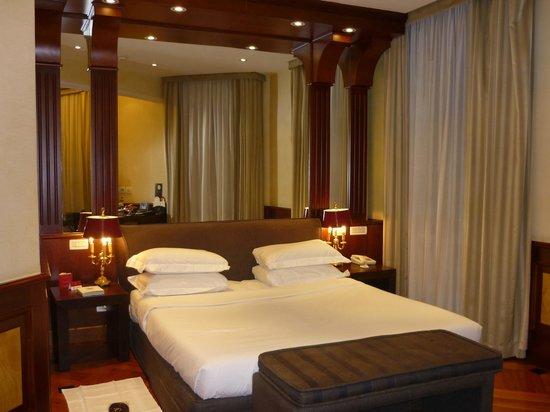 Hotel Raphael:                   Confort et repos après la marche romaine