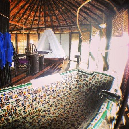 Azulik:                   Inside room 3.