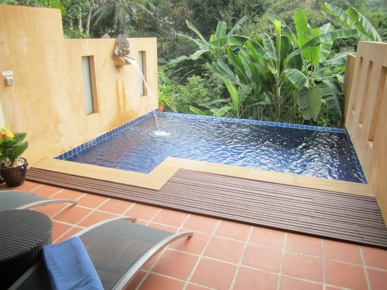 Koh Chang Cliff Beach Resort: Private Pool