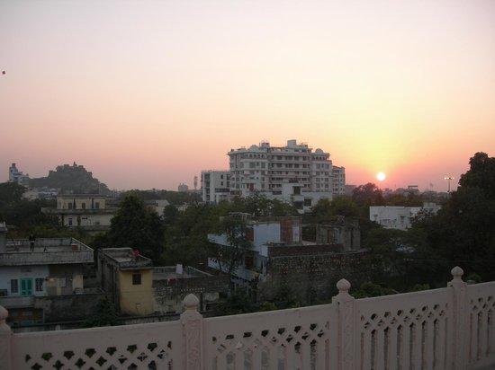 سوريا فيلا - إيه كلاسيك هيرتيدج هوتل:                   Blick vom Dach des Hotels in die Umgebung                 