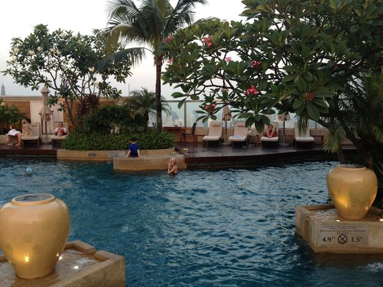 InterContinental Bangkok:                                     Swimming Pool