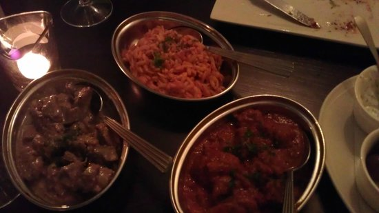 El Greco: Beef in Tomato, Pork in Red wine, Greek rice
