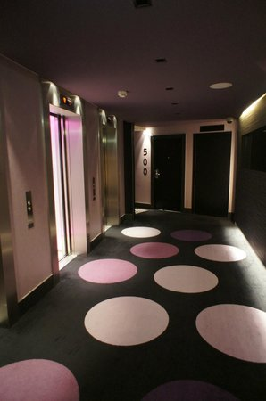Sofitel Luxembourg Le Grand Ducal:                   Couloir