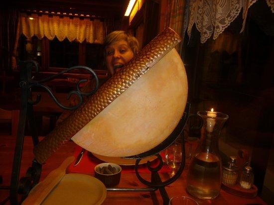 Restaurant Le Barillon :                   Raclette