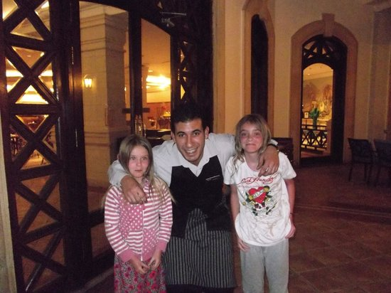 SENTIDO Palm Royale Soma Bay:                   minar the loveliest waiter