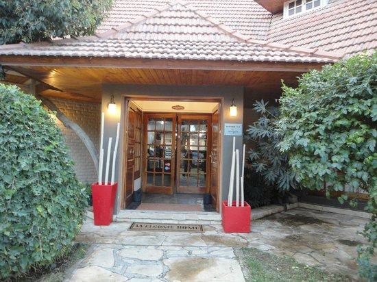Hosteria Amparo: Puerta de entrada